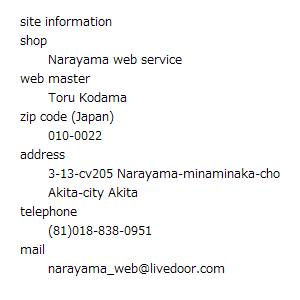 運営者情報およびサイト管理人